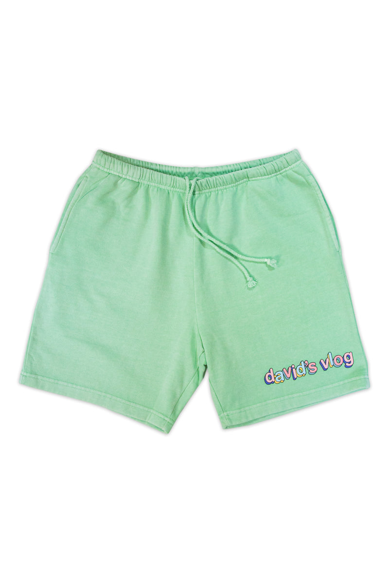 David Dobrik Matcha Sunset Shorts