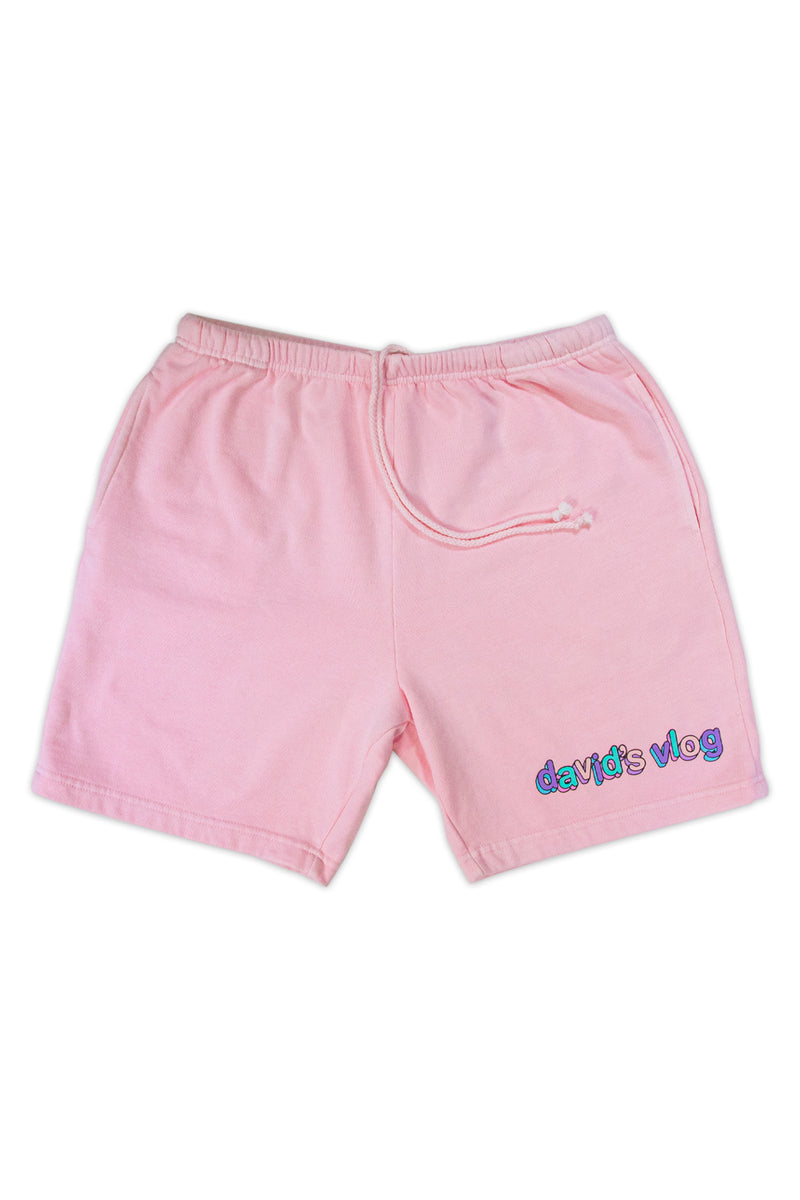 David Dobrik Pink Sunset Shorts