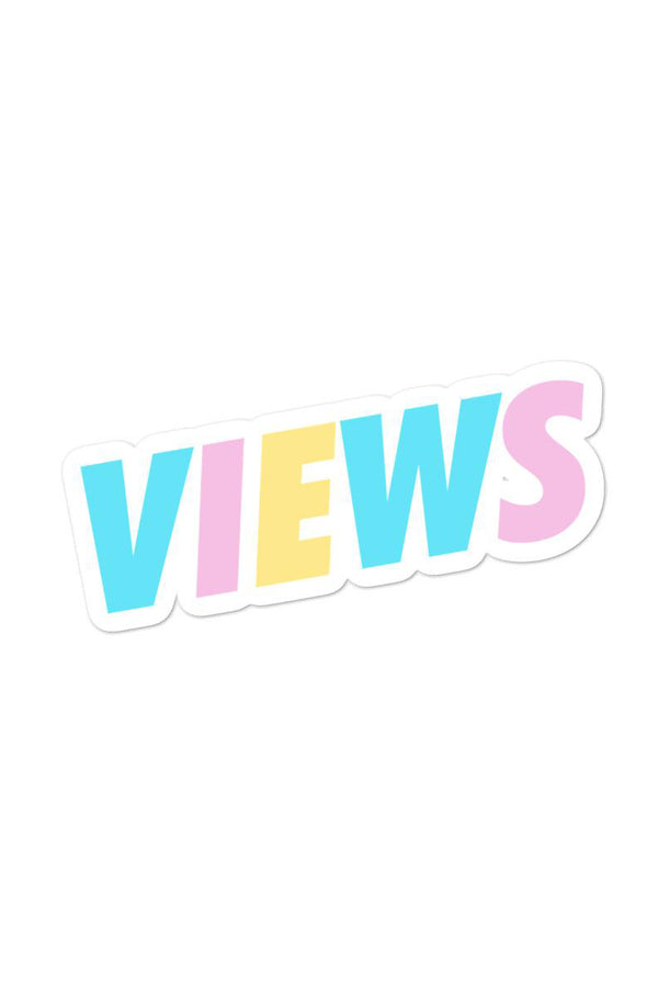 Views: Welcome Back Sticker