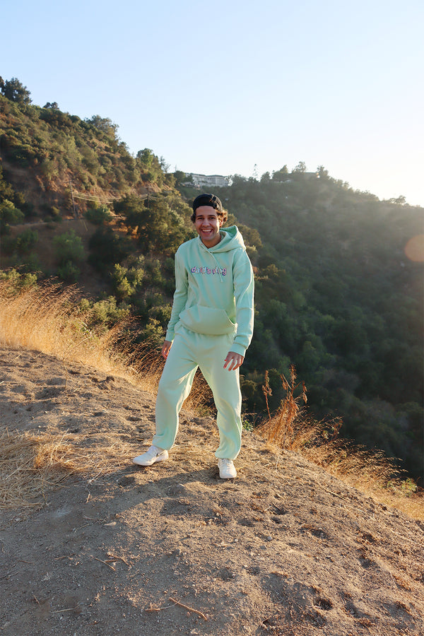 David Dobrik Matcha Sunset Sweatpants