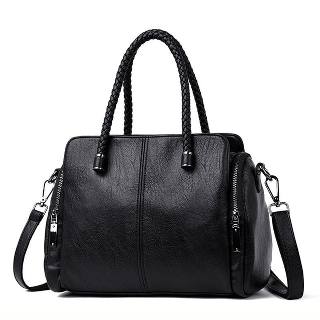 Two side pocket Casual Tote Bag