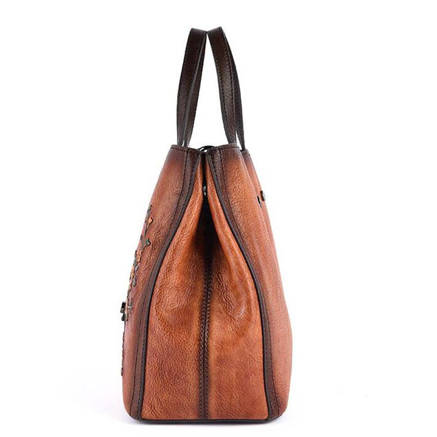 Original 100% Leather Retro Cowhide Cross-body Bags