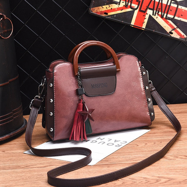 Classic PU Leather Handbags