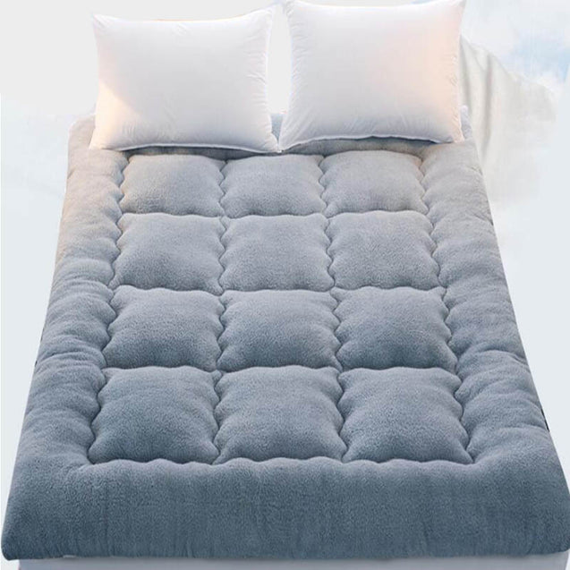 Thicken Fleece Lamb Cashmere Winter Bed Sleeping Mattress
