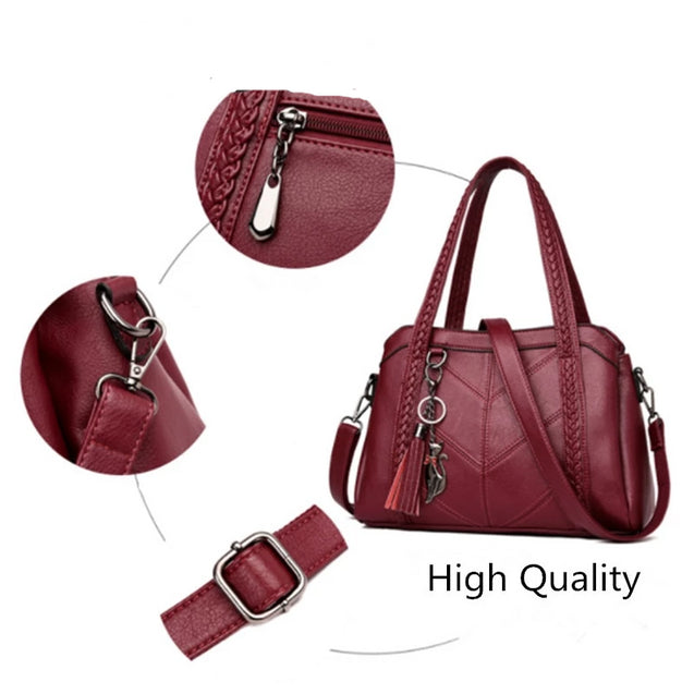 Tassel Tote Luxury Spiraea Shoulder Bags