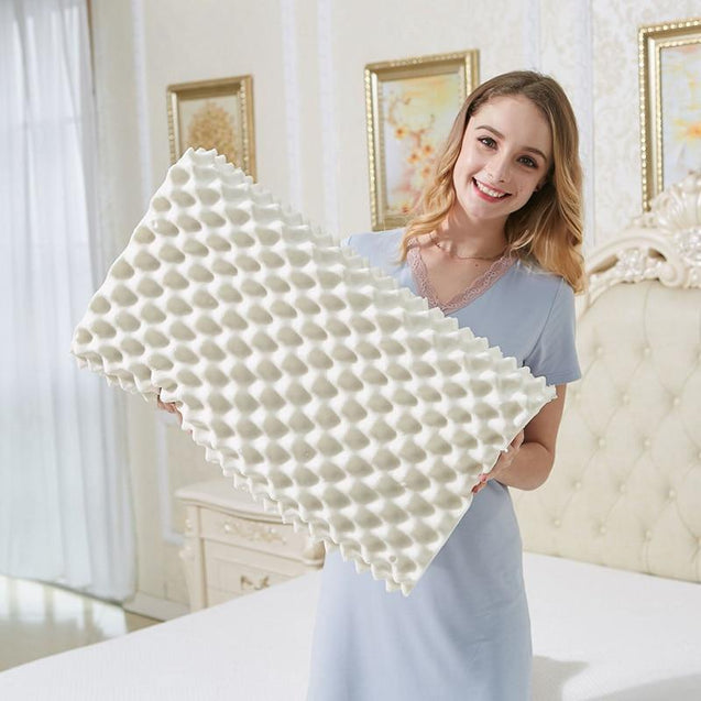 Sleep Natural Latex Massage Pillows Orthopedic Pillow