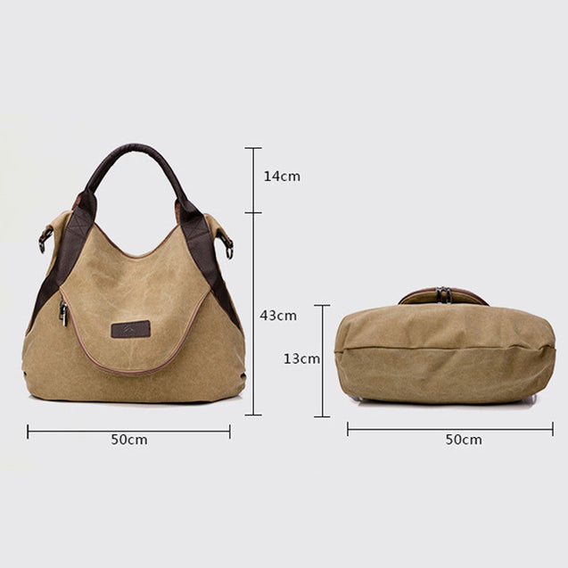 Large Pockets Casual Tote bag