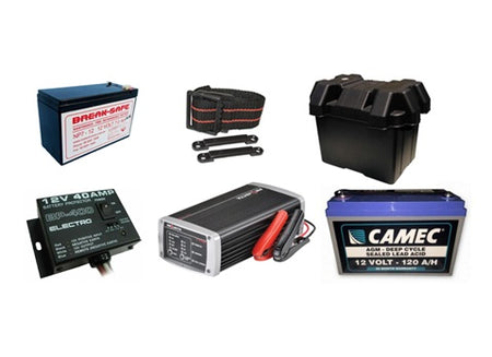 BATTERIES & BATTERY PRODUCTS