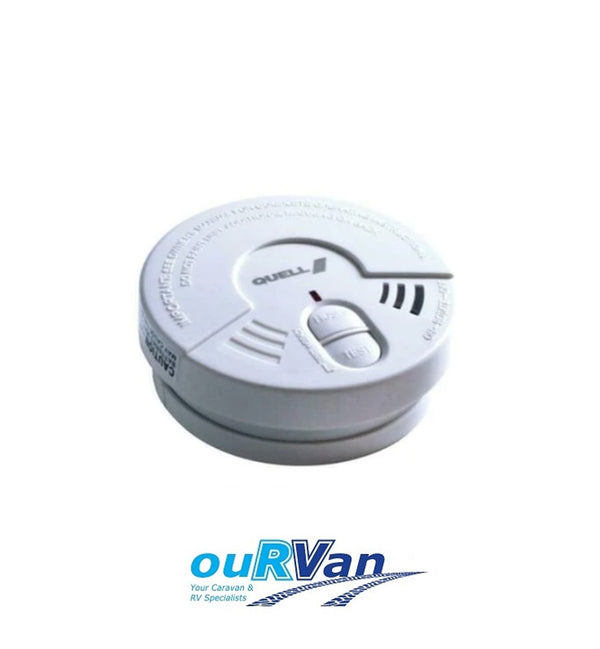 QUELL 13599 IONISATION HUSH / TEST LIVING AREA SMOKE ALARM 000340 CARAVAN RV