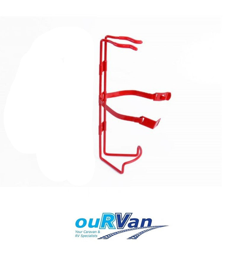 FIRE EXTINGUISHER METAL HOLDER  TO SUIT 000350