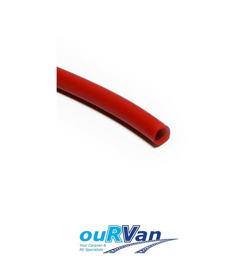 JG TUBE 12MM LLDPE RED - 005254