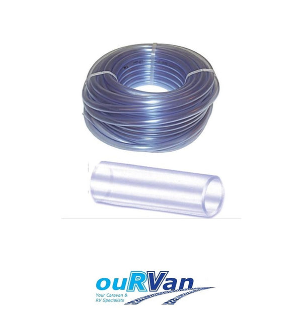 HOSE CLEAR VINYL CVT 12MM FOODGRADE 005272