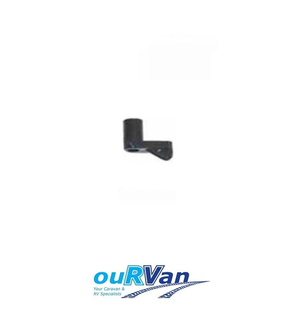 CAMEC 008258 FLYSCREEN TURNBUTTON 5/16 BLACK CARAVAN RV