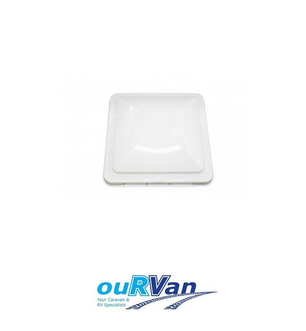 "CARAVAN VENT LID WHITE SUIT ELIXIR WITH PIN HINGE 14"" RV PARTS 008592"