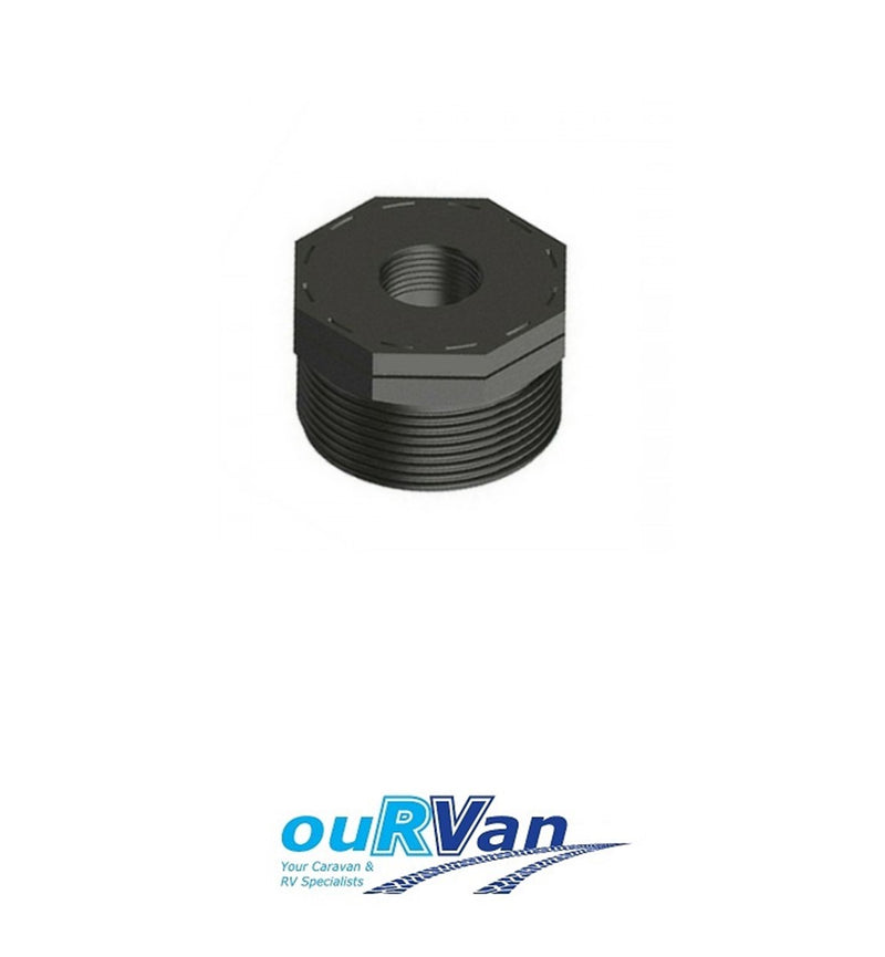 BUSH POLY THREADED BSP 40MM X 25MM 014988