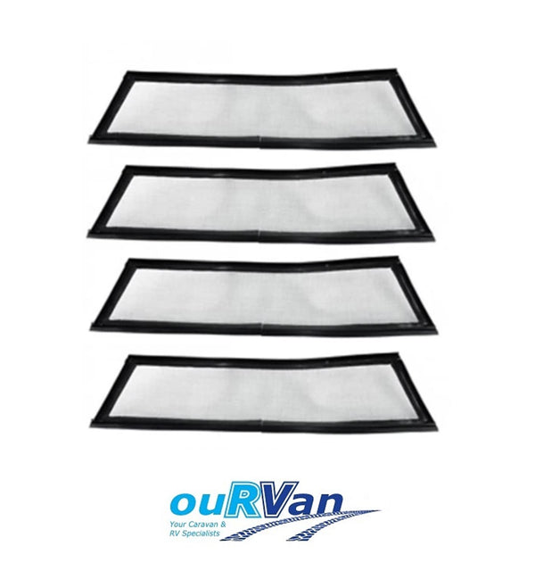 SET OF 4, 4 SEASONS HATCH FLY SCREEN SET OF 4 STANDARD MESH - GENUINE PART 016430