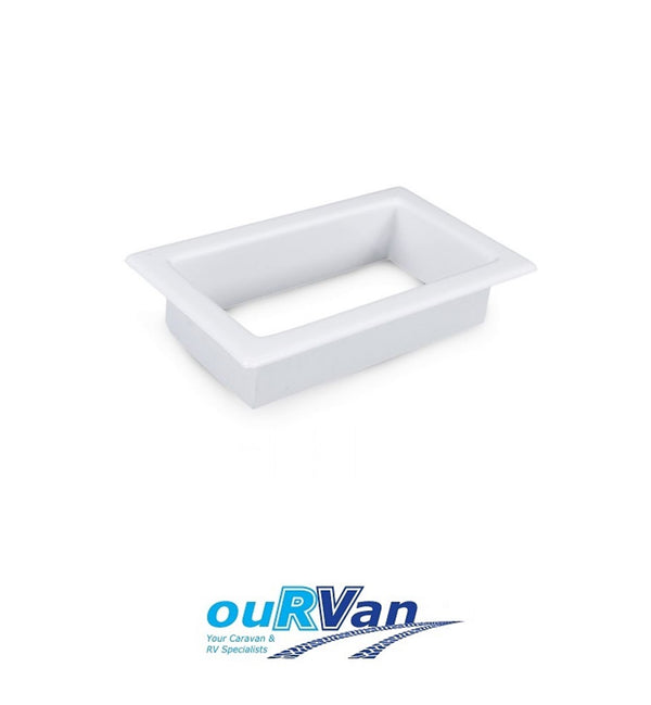 SCUPPER VENT LARGE INTERNAL TRIM WHITE T/