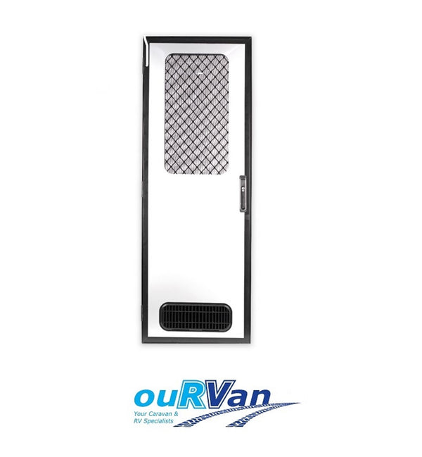 CAMEC ODYSSEY 4SC ENTRY DOOR 1750x622 BL LHH JET BLACK