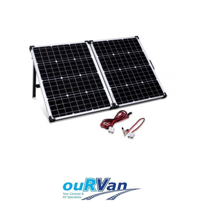 CAMEC 100W 12V FOLDING SOLAR PANEL WITH 15A CONTROLLER SERIES 2 044047