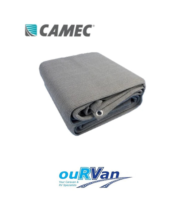 CAMEC 044093 FLOOR MATTING 7M X 2.5M GREY FLOORING MAT