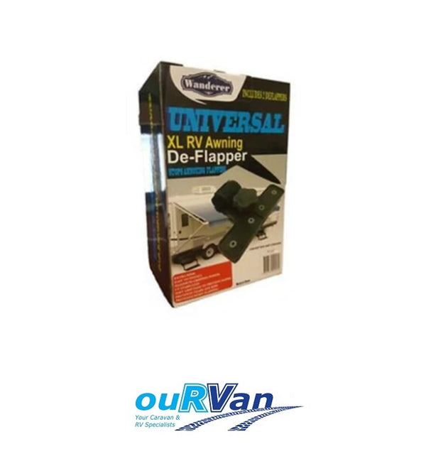 UNIVERSAL AWNING DEFLAPPERS SUITS POP TOP AND CARAVAN XL- RV MAX ANTI FLAP 0527