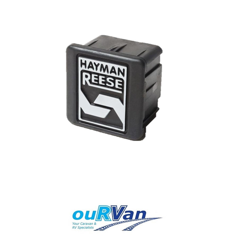 HAYMAN REESE 50 X 50 TOW BAR HITCH RECEIVER INSERT BLANK PLUG RUBBER INSERT