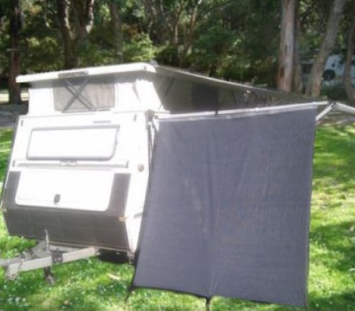 SUPEX PTAEPS POP TOP CARAVAN END PRIVACY SCREEN SHADE 2.05M X 1.85M