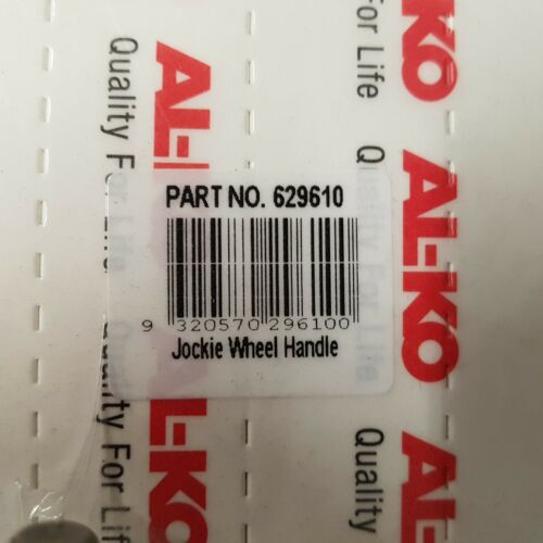 "ALKO GRUB SCREW MOUNT JOCKEY WHEEL HANDLE SUIT 6 & 8"" JOCKEY WHEELS 629610"