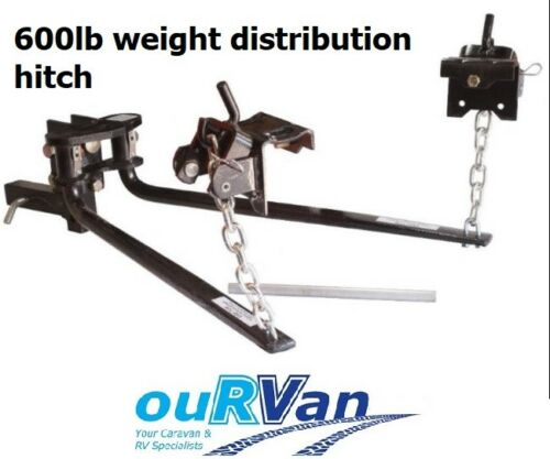 "600LB WEIGHT DISTRIBUTION HITCH LOAD LEVELLER SYSTEM 30""BARS"