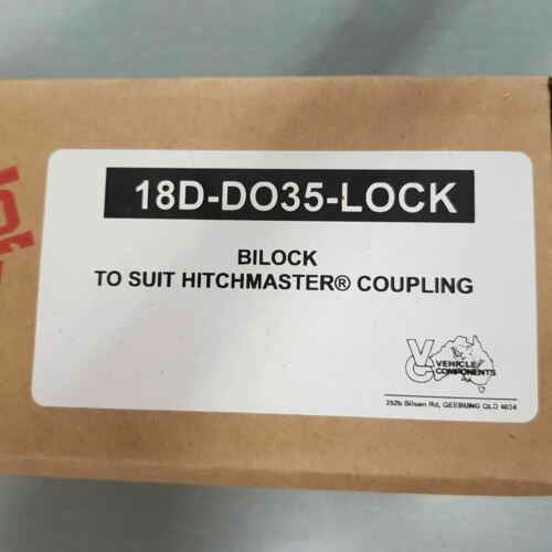 GENUINE VEHICLE COMPONENTS BI-LOCK HITCHMASTER DO35 COUPLING LOCK DO45