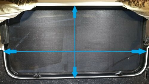 CARAVAN WINDOW FLYSCREEN SUIT OPENING SIZE 280MM X 1524MM CAMEC WIND OUT 010241