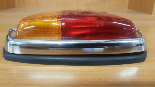 NARVA 86010 CARAVAN RETRO OLD STYLE STOP TAIL LAMP CHROME BEZEL FRANKLIN
