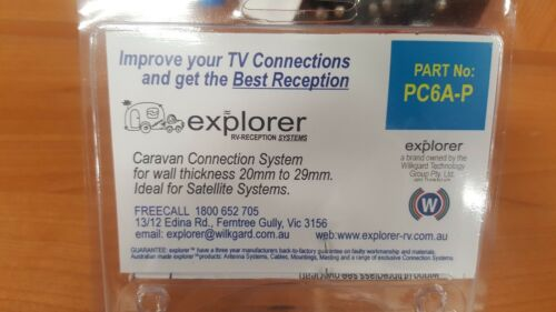 EXPLORER PASSIVE THRU CONNECT PC6A-P ANTENNA CONNECTION 002378