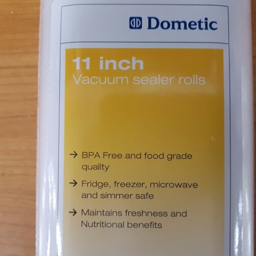 11″ VACUUM SEALER ROLLS TWIN PACK GENUINE DOMETIC CRYOVAC BAGS PART