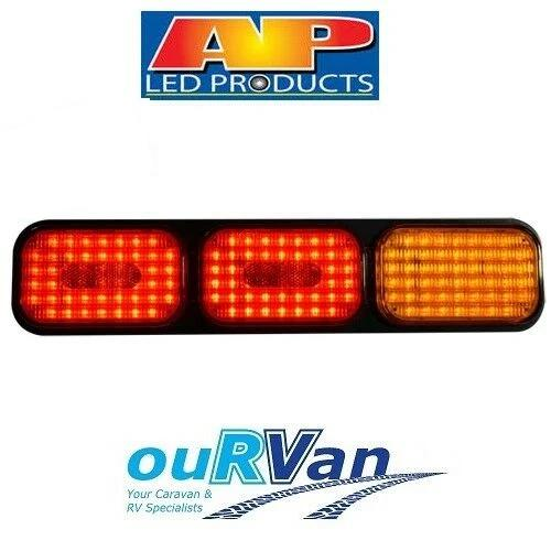 AP10404 LED COMBINATION STOP TAIL TURN TRAILER CARAVAN TRUCK LIGHT 10-30V