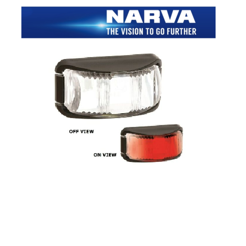 NARVA 9-33 RED LED REAR END OUTLINE MARKER LIGHT 91632BL