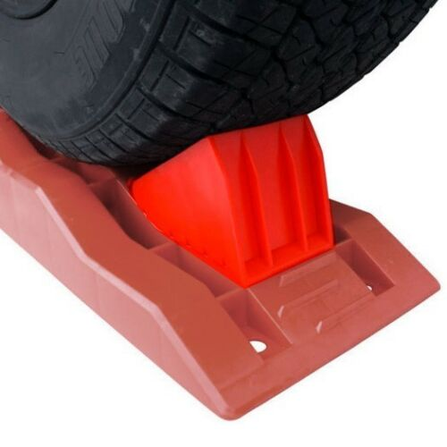 HAIGH WHEEL CHOCKS TO SUIT CVL2 LEVELLING RAMP 450-00398 CARAVAN TRAILER