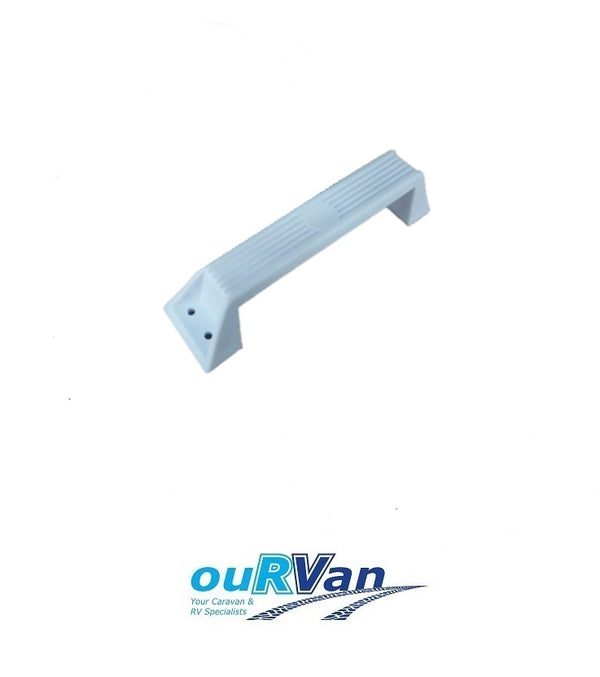 WHITE CARAVAN GRAB HANDLE 007988 UV STABILIZED