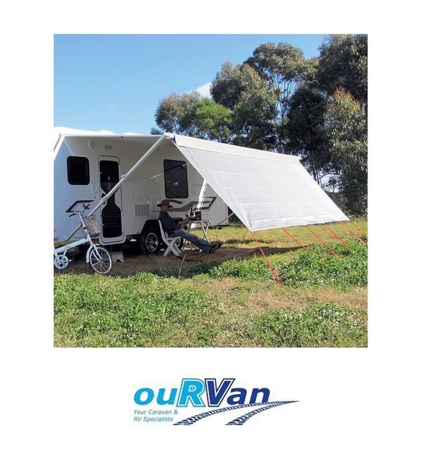 COAST V2 SUNSCREEN W4940MMXH1800MM T/S 17' CF AWNING. 200-09072