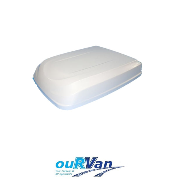 WHITE OUTER SHROUD FOR DOMETIC AIR CONDITIONERS 3308046.014