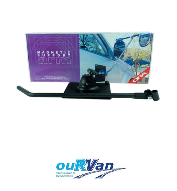 ORA MAGNETIC SUPPORT ARM (EACH) TOWING MIRROR CARAVAN TRAILER BOAT 350-00280
