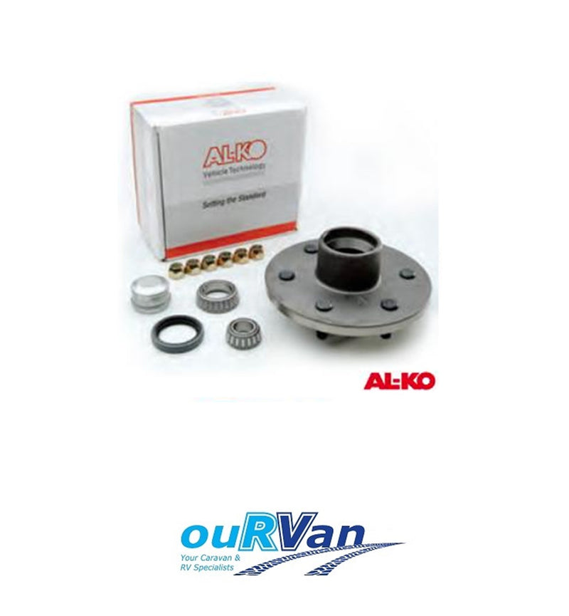 441282G AL-KO 6 INCH GALVANISED FORD HUB & LM BEARING KIT ALKO