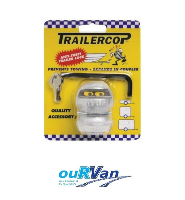 TRAILER COP ANTI THEFT TRAILER LOCK CARAVAN CAMPER TRAILER BOAT 450-00910