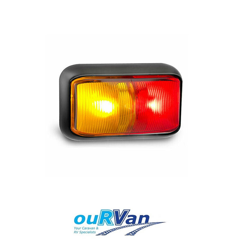 58ARM RED AMBER LED SIDE MARKER LAMP