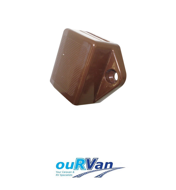 PUSH BUTTON LOCK BROWN LARGE 600-00520 CARAVAN MOTORHOME RV COAST TO COAST