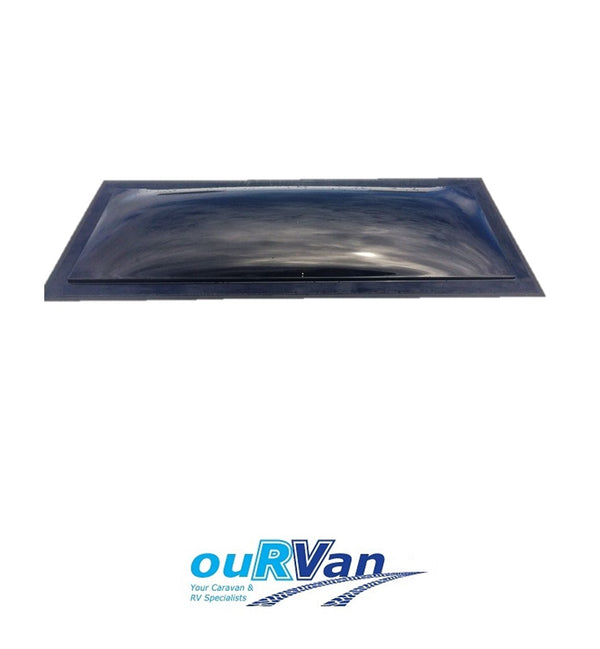 LARGE FIXED DOME ONLY 1625MM X 590MM AVAN BLACK 60065