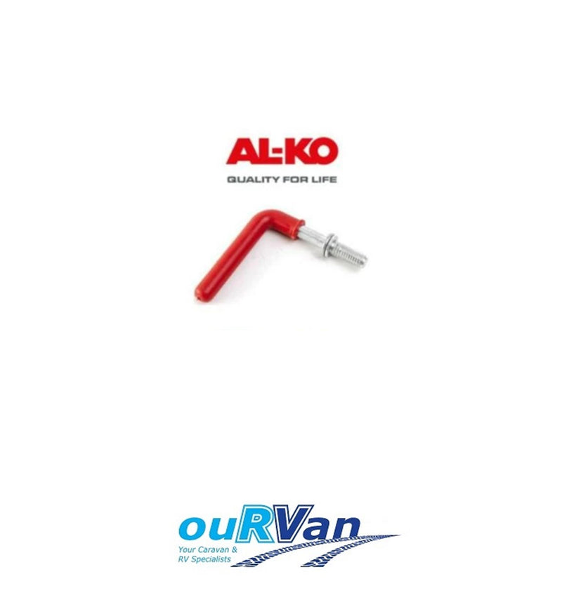 GENUINE ALKO JOCKEY WHEEL CLAMP HANDLE ONLY 629951 CARAVAN TRAILER BOAT