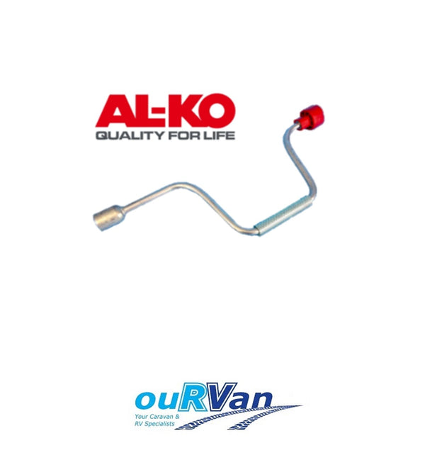 ALKO 654845 HEX WINDER CORNER JACK HANDLE 450MM LONG AL-KO CARAVAN RV TRAILER