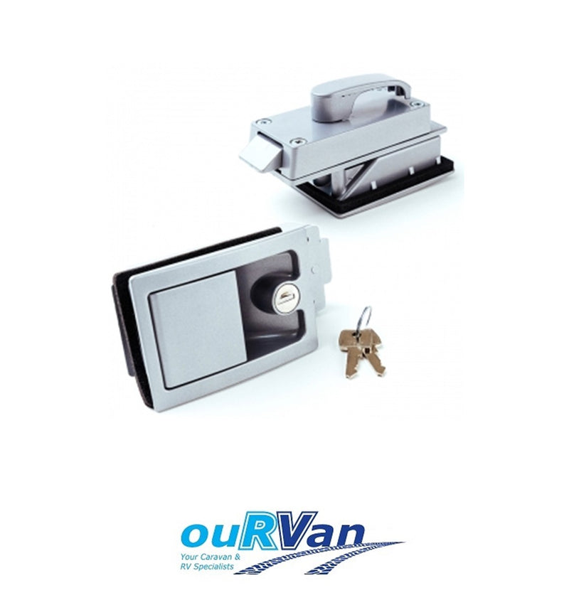 MTM RECESSED CARAVAN DOOR LOCK - SUIT JAYCO WINDSOR STATESMAN 7545-101-06