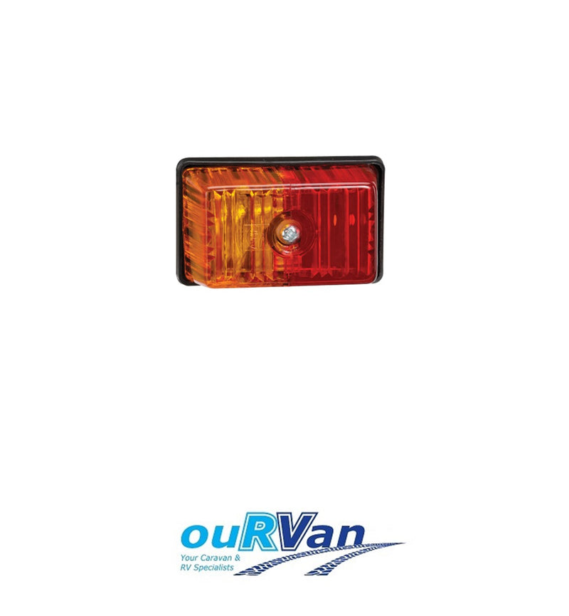 NARVA RED/AMBER SIDE MARKER LIGHT (BLISTER PACK OF 1) - 85880BL